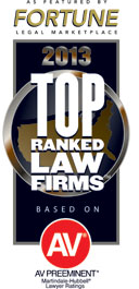 Fortune Magazine 2013 Top Ranked Law Firms